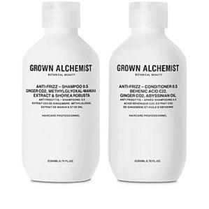 Grown Alchemist Hair - GROWN ALCHEMIST Anti-Frizz Shampoo & Conditioner